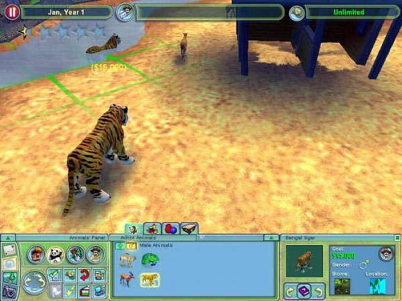 Game Zoo Tycoon 2