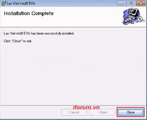 Quá trình cài đặt phần mềm